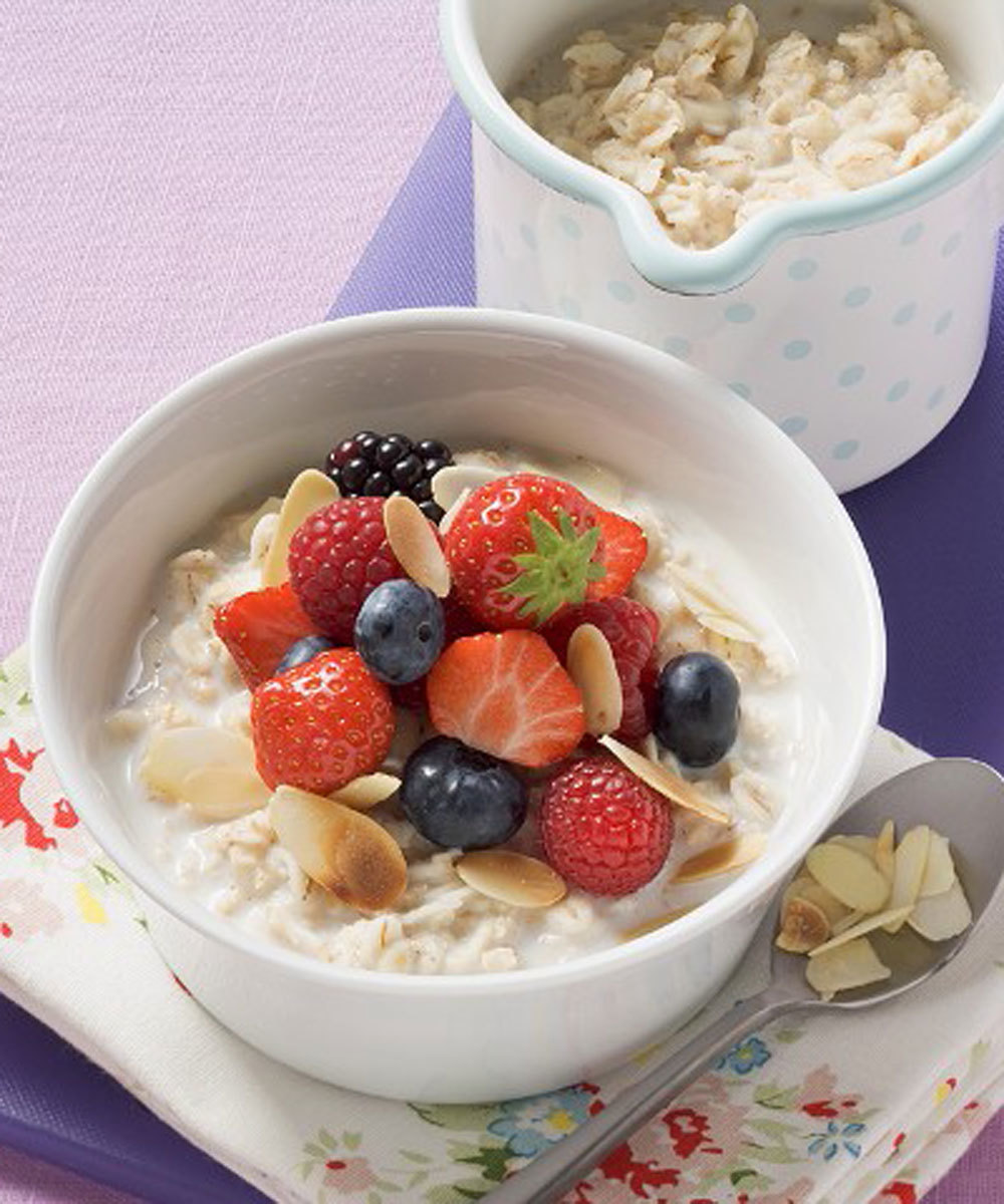 Ficha ideas de desayuno para adelgazar sin perder energía.
