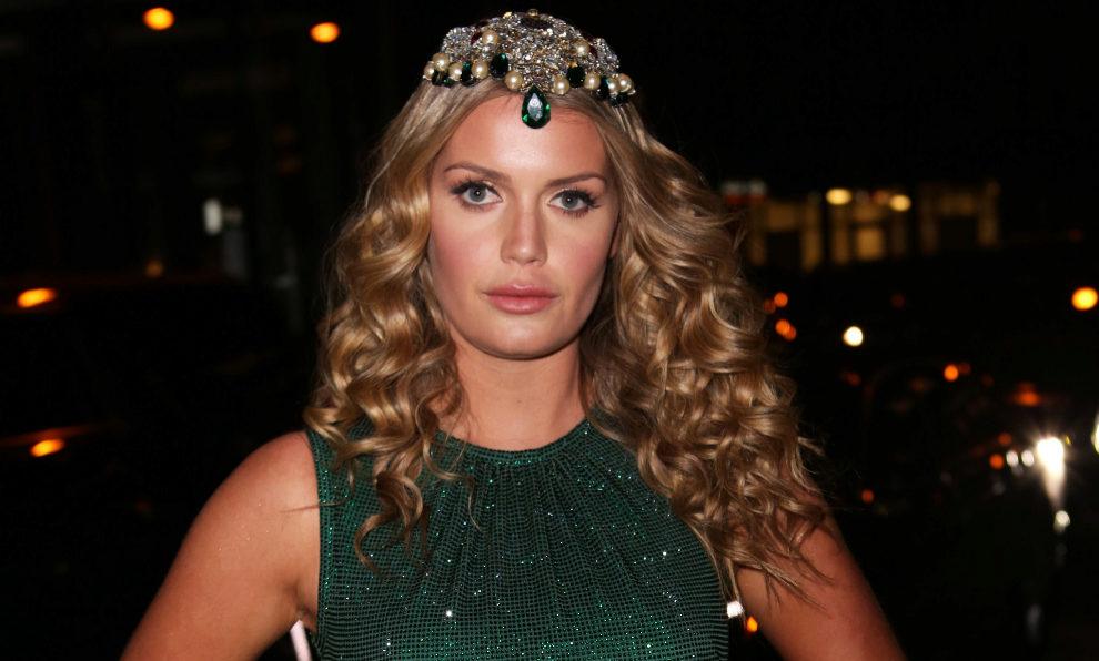 Lady Kitty Spencer en una fiesta celebrada por la firma Dolce&Gabbana.