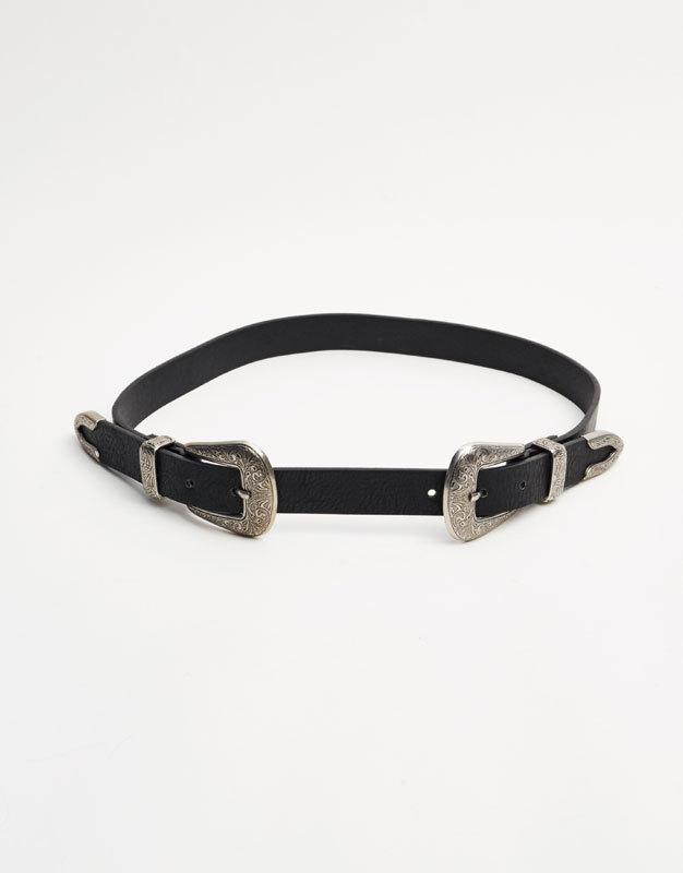 Cinturón cowboy de Pull & Bear (7,99 euros).
