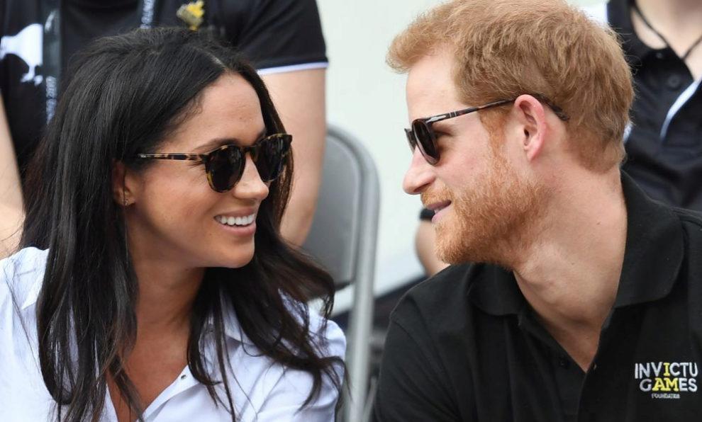 Meghan Markle y el príncipe Harry en los Juegos Invictus de Canadá