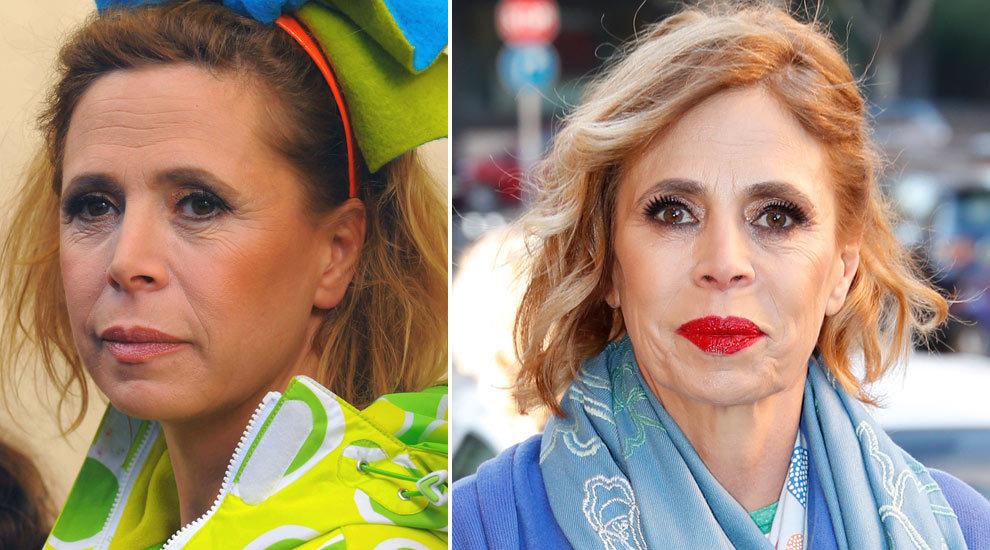 La diseñadora Ágatha Ruiz de la Prada ha transformado su rostro...