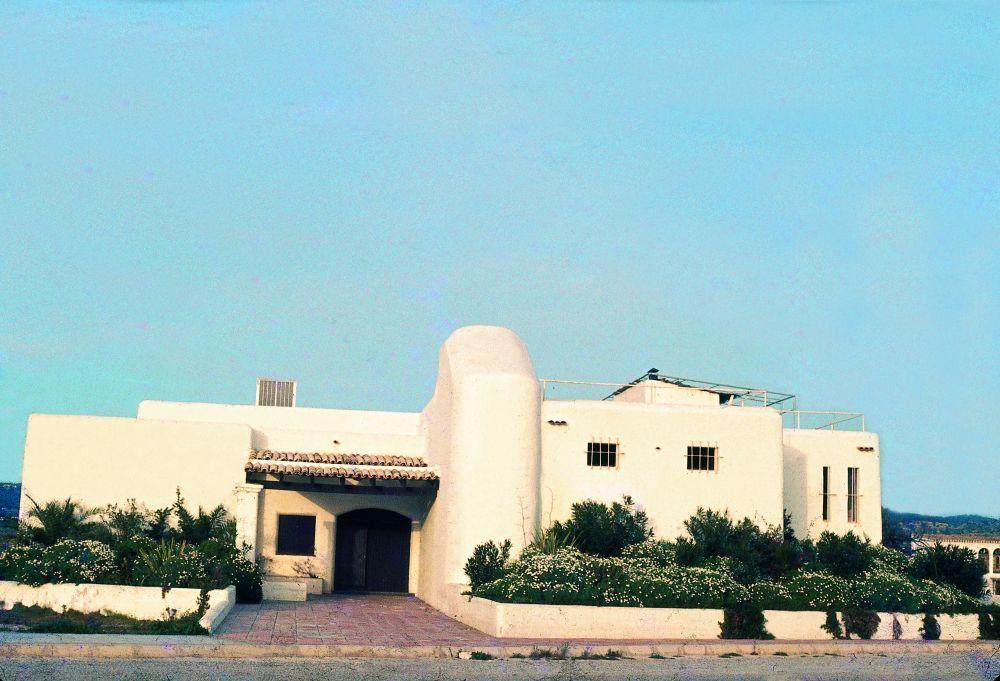 Así era Pachá en 1973. La casa payesa original que Ricardo Urgell...