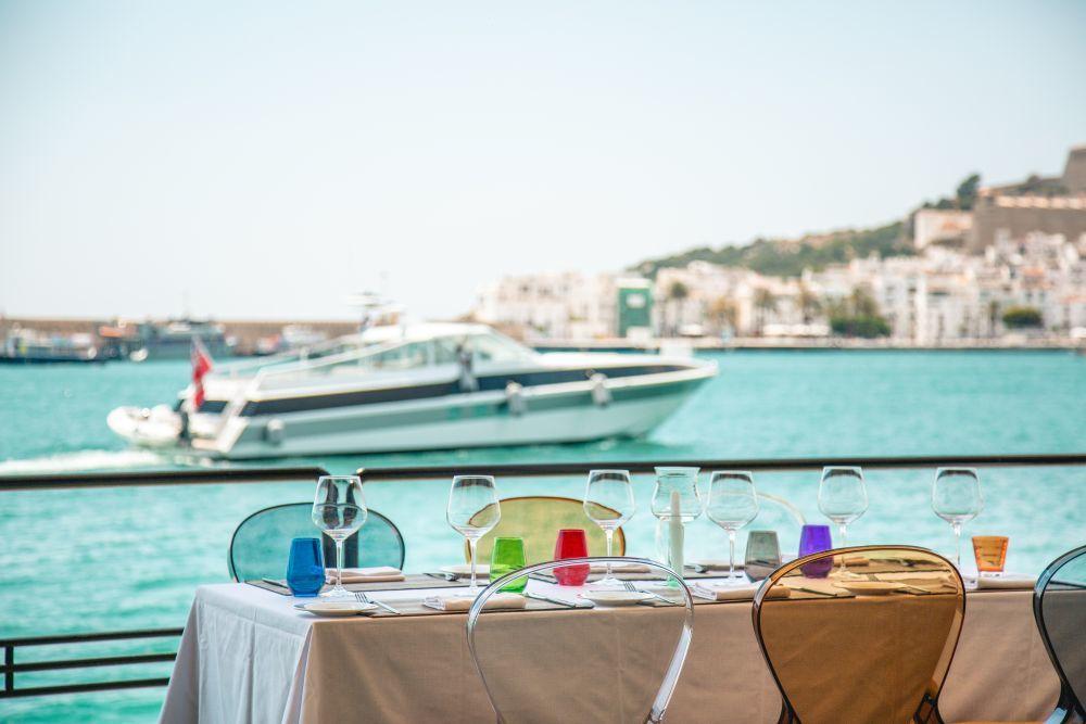 Las vistas al Dalt Vila de Lío Ibiza.