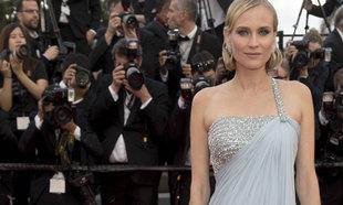 Diane Kruger en el último festival de Cannes.