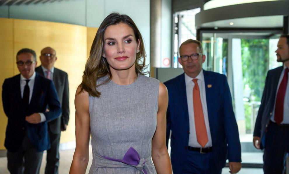 La Reina Letizia en Ginebra.