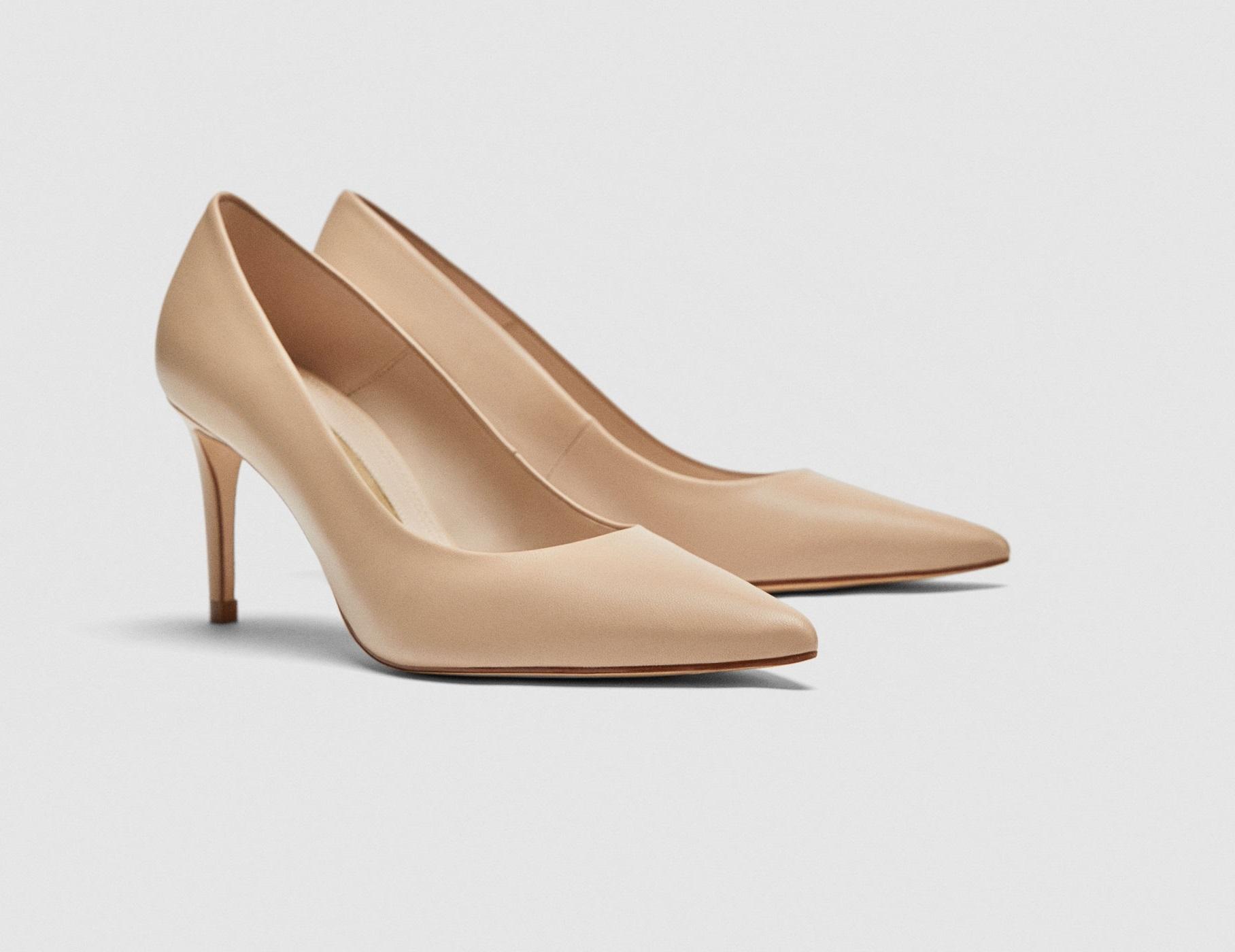 Stilettos de Zara (29,99 euros).