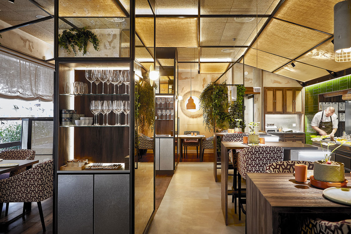 El chef Rodrigo de la Calle abrió en 2015 el restaurante El...