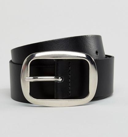 Cinturón hebilla maxi de Asos (15,99 euros)