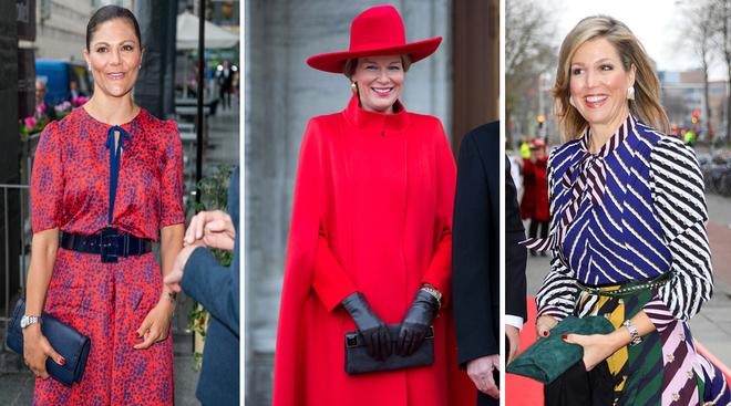 El bolso de mano es el favorito de las royals.