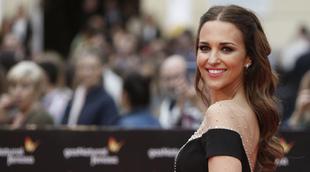 Paula Echevarría con su melena larga en el Festival de Cine de...