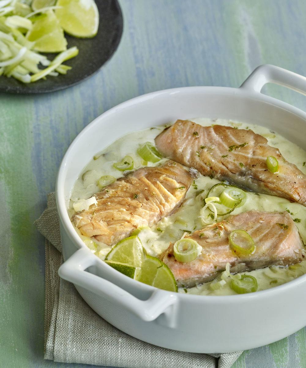 Las proteínas de pescados como el salmón tienen un efecto saciante...