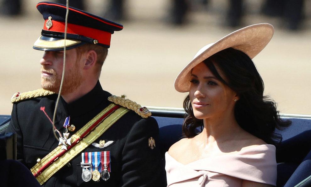 Los duques de Sussex reaparecen después de su luna de miel.