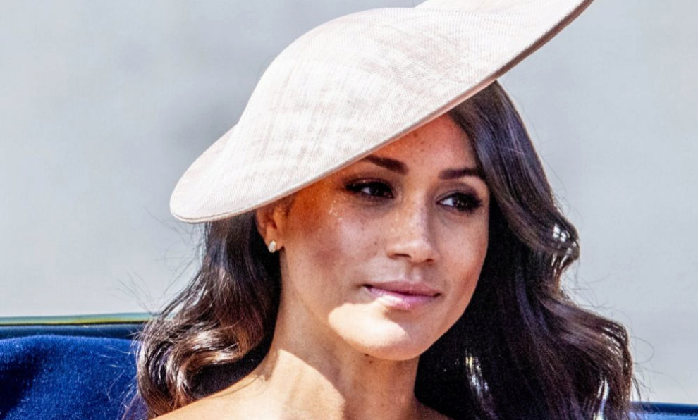 Meghan Markle durante el Trooping the Colour