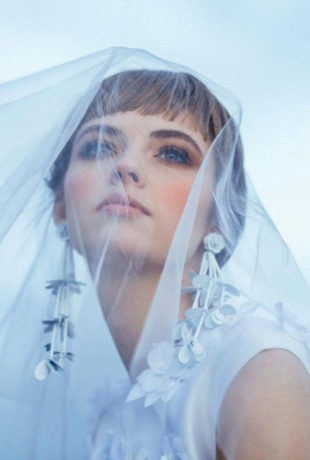 Make-up products Sisley //Hair products Aveda // Dress Juan Vidal...