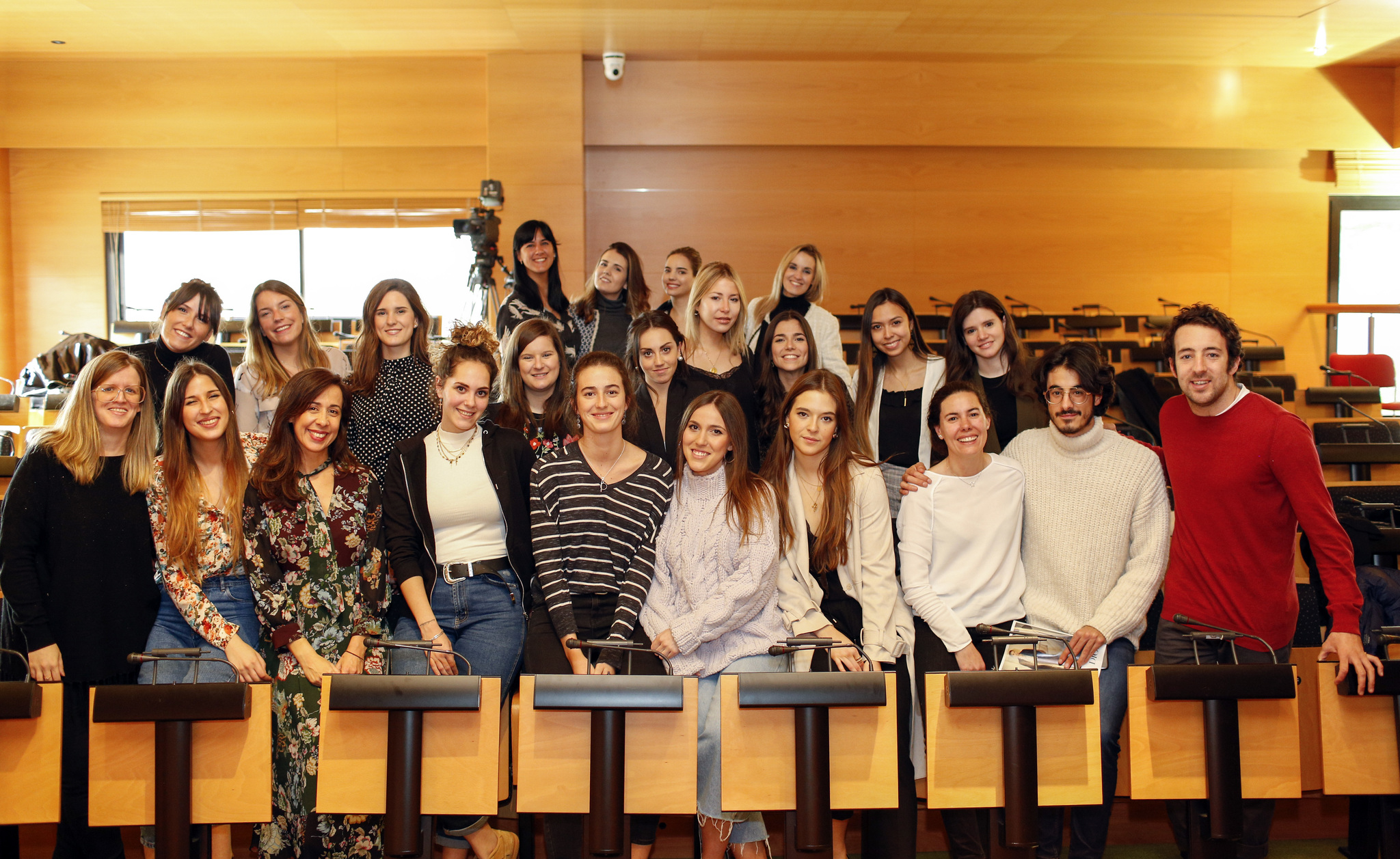 Alumnos del Máster oficial de Telva y Yo Dona, 2018.