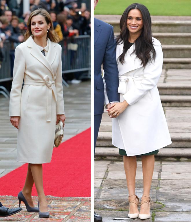 Es habitual verlas vestir de blanco, incluso en invierno. ¿Otra de...
