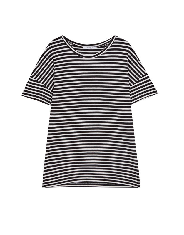 Camiseta de Pull & Bear (5,99 euros).