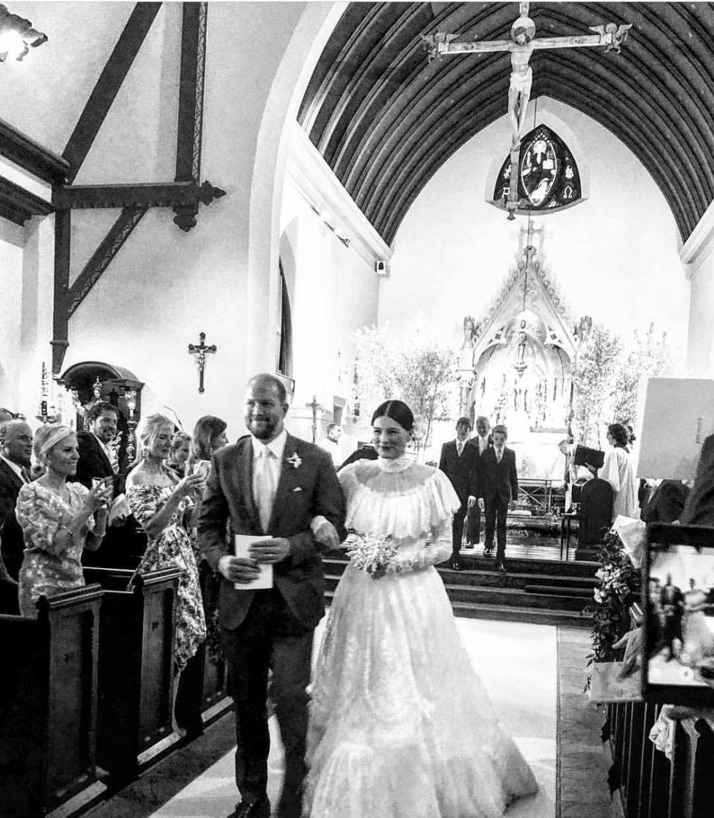 La diseñadora Tabitha Simmons se ha casado en Nueva York con el...
