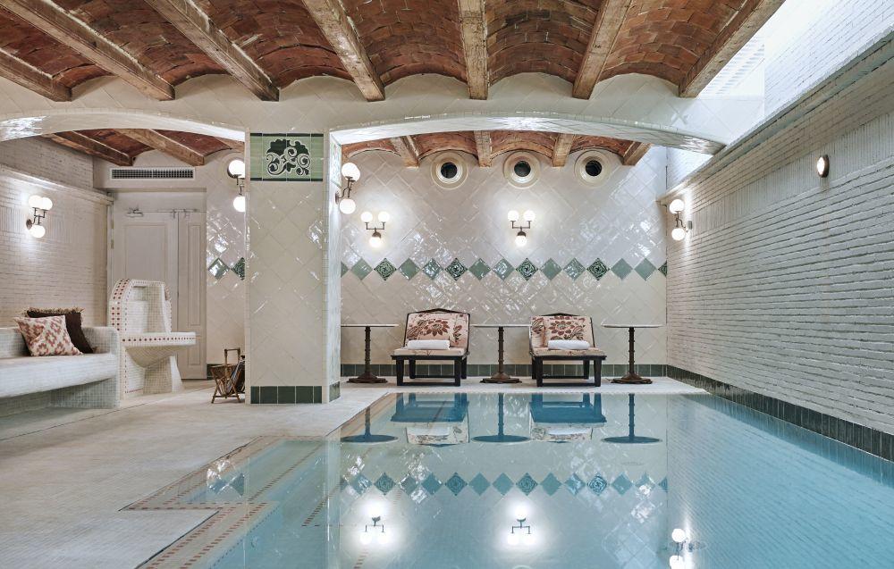 El maravilloso spa del hotel