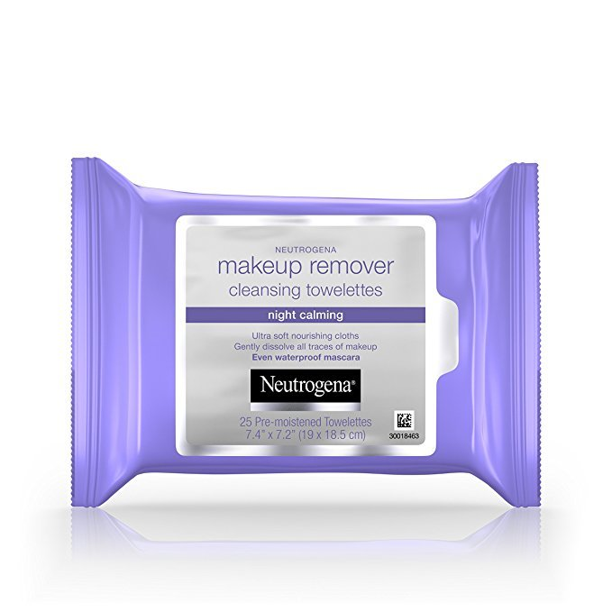 Estas son las toallitas desmaquillantes de Neutrogena Night Calming,...