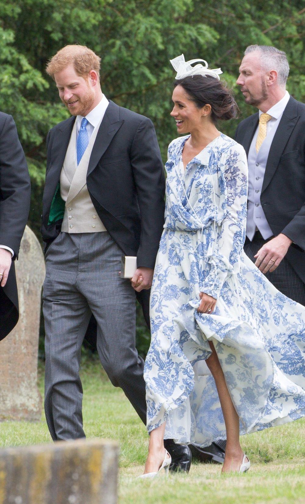 La duquesa de Sussex sacó su lado más bohemio como invitada a la...