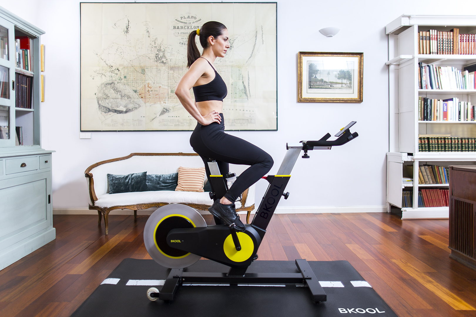 Bkool Smart Bike es la bicicleta indoor definitiva.