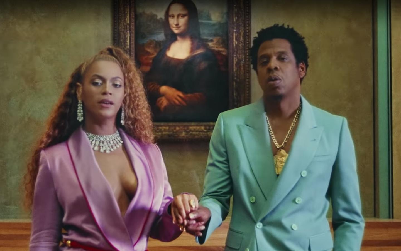 """Beyoncé y Jay-Z en el videoclip de su tema """"Apeshit"""""""
