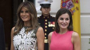 La Reina Letizia y Melania Trump comparten mucho más que trucos de...