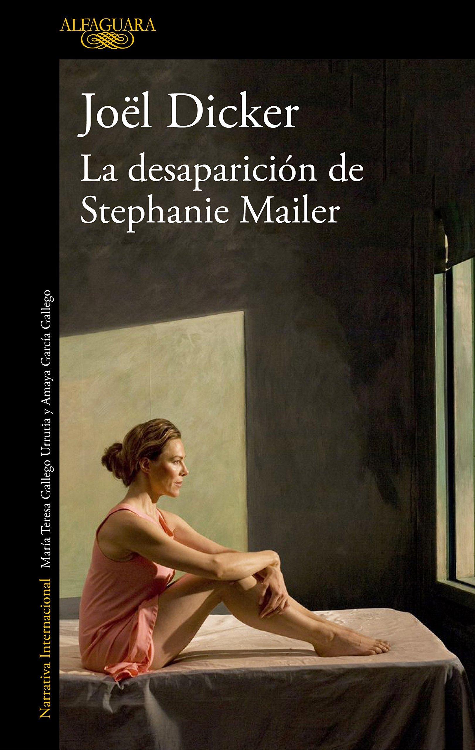 La desaparición de Stephanie Mailer, el último libro de Jöel Dicker...