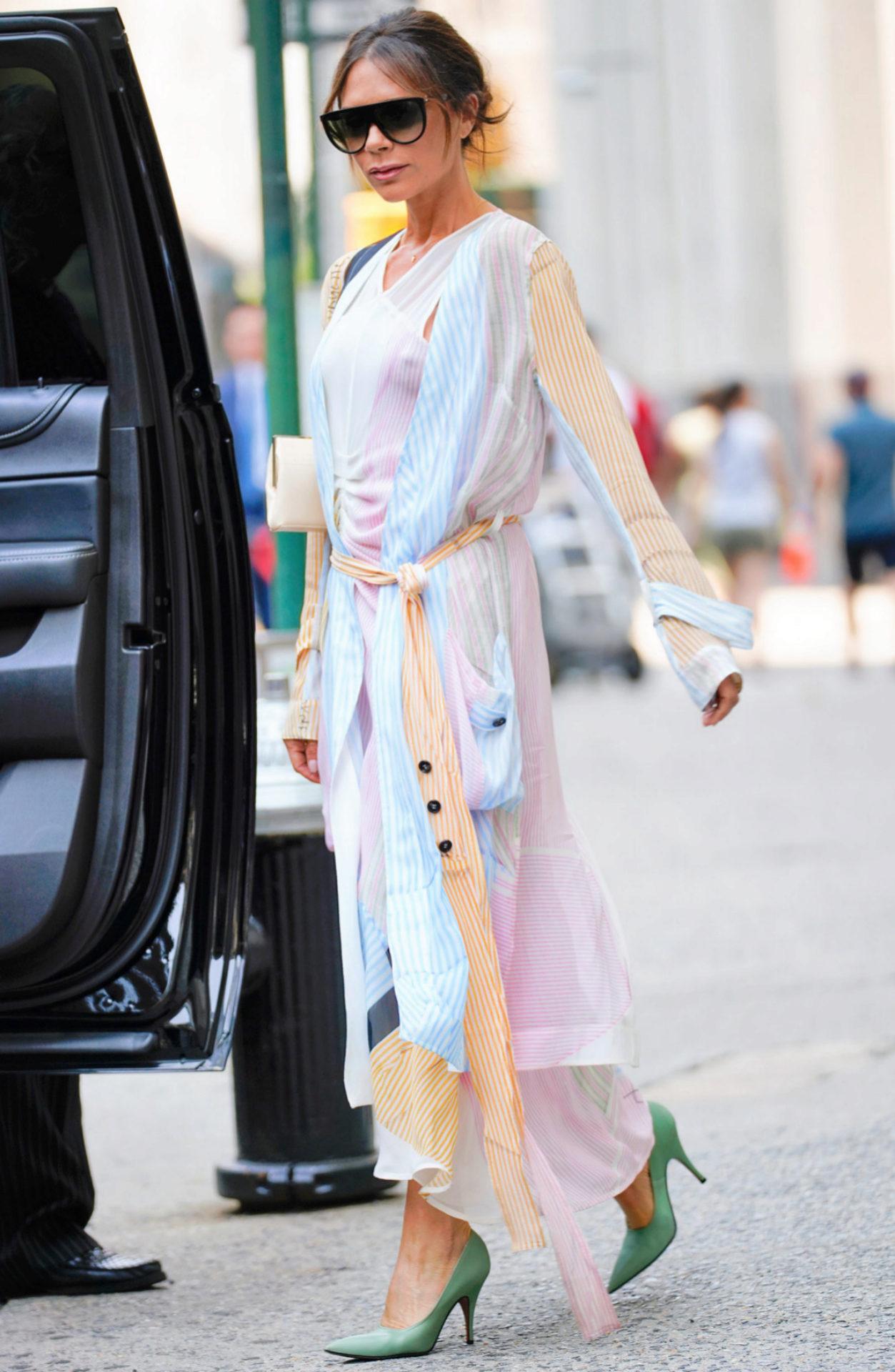 Victoria Beckham, colección Primavera-Verano 2018.