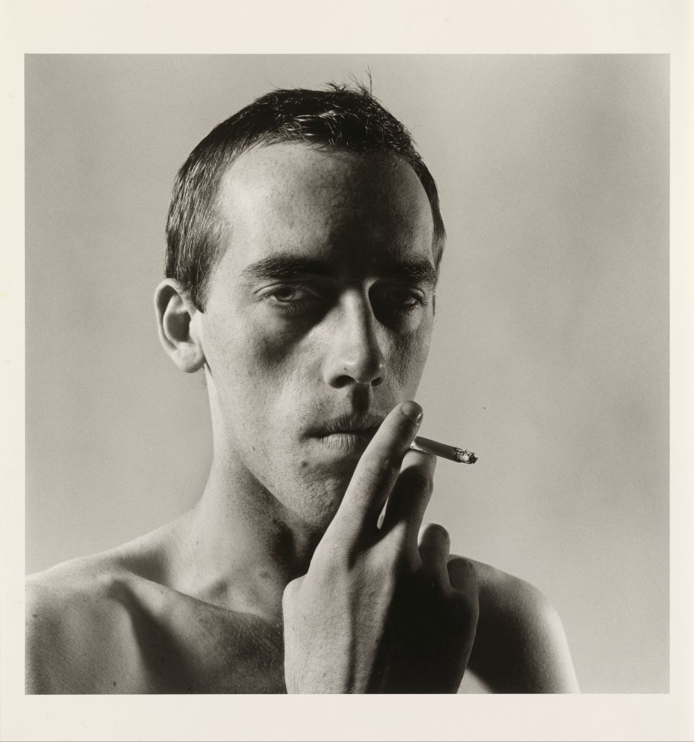 David Wojnarowicz Smoking, 1975 Courtesy The Peter Hujar Archive, Pace...