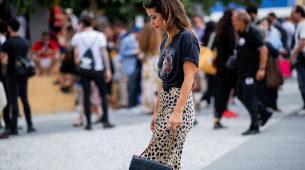 La falda de leopardo