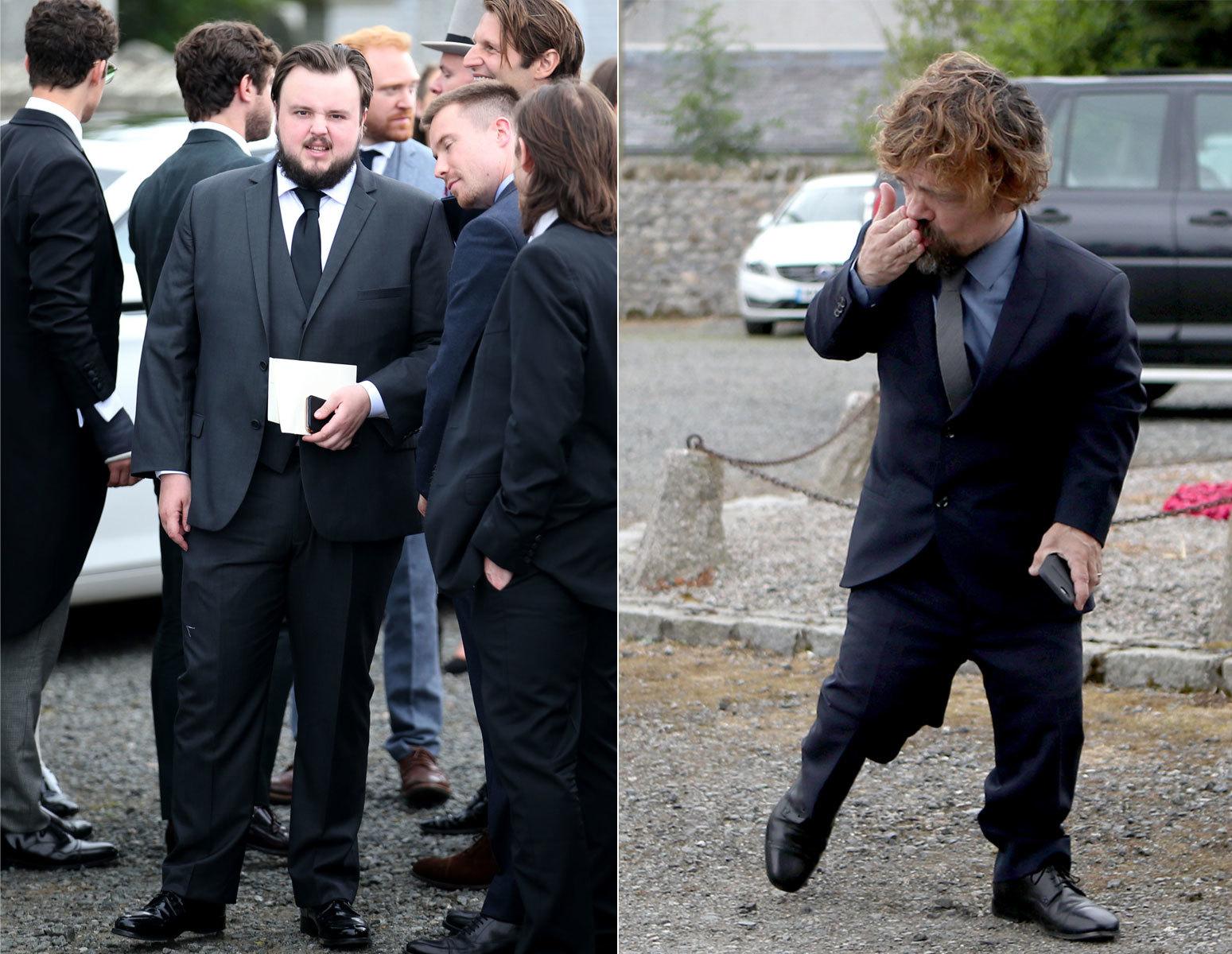 Sin arriesgar pero acertados, así aparecieron los actores John...