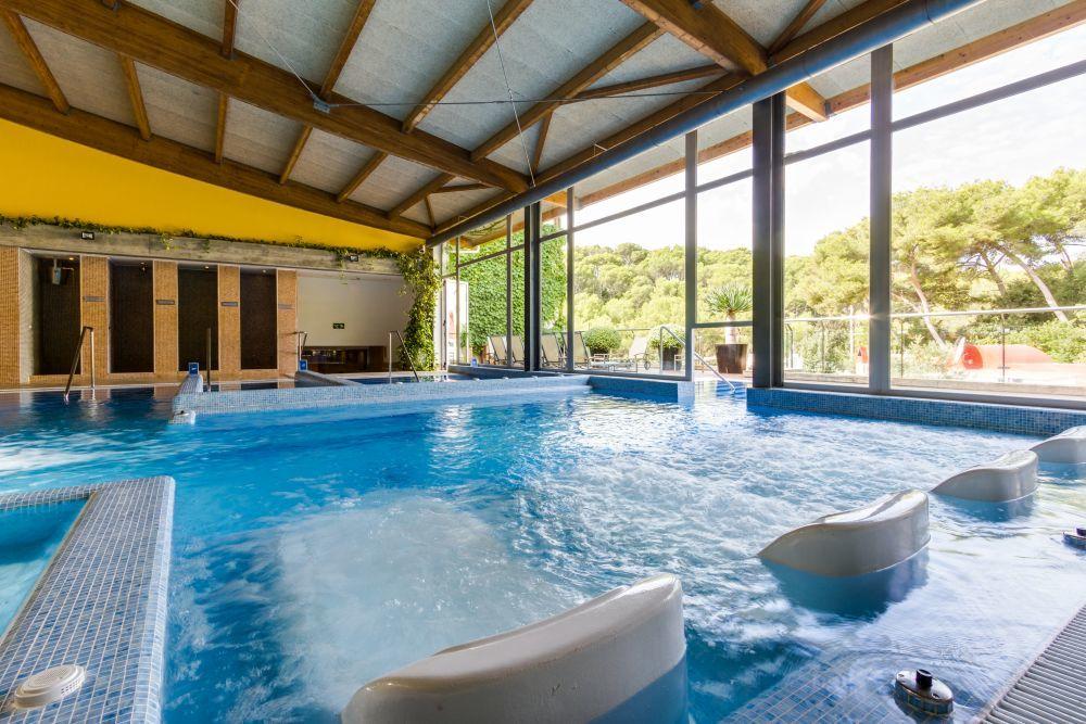 El circuito termal del Blue Spa, del Hotel Artiem Audax.
