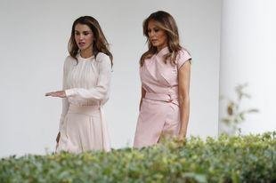 Ambas se han reencontrado por segunda vez en la Casa Blanca
