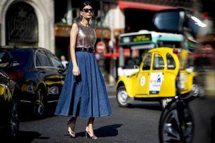 París apuesta por faldas y vestidos