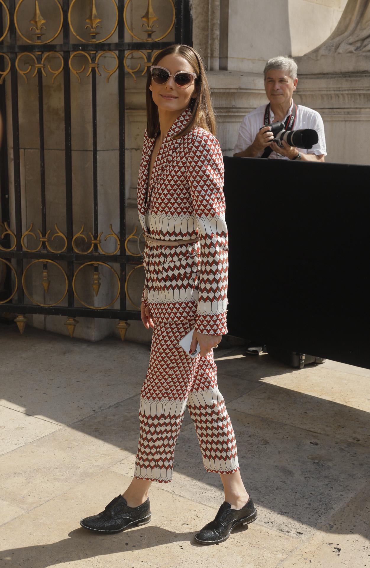 Olivia Palermo vuelve a darnos una lección de estilo con su manera de...