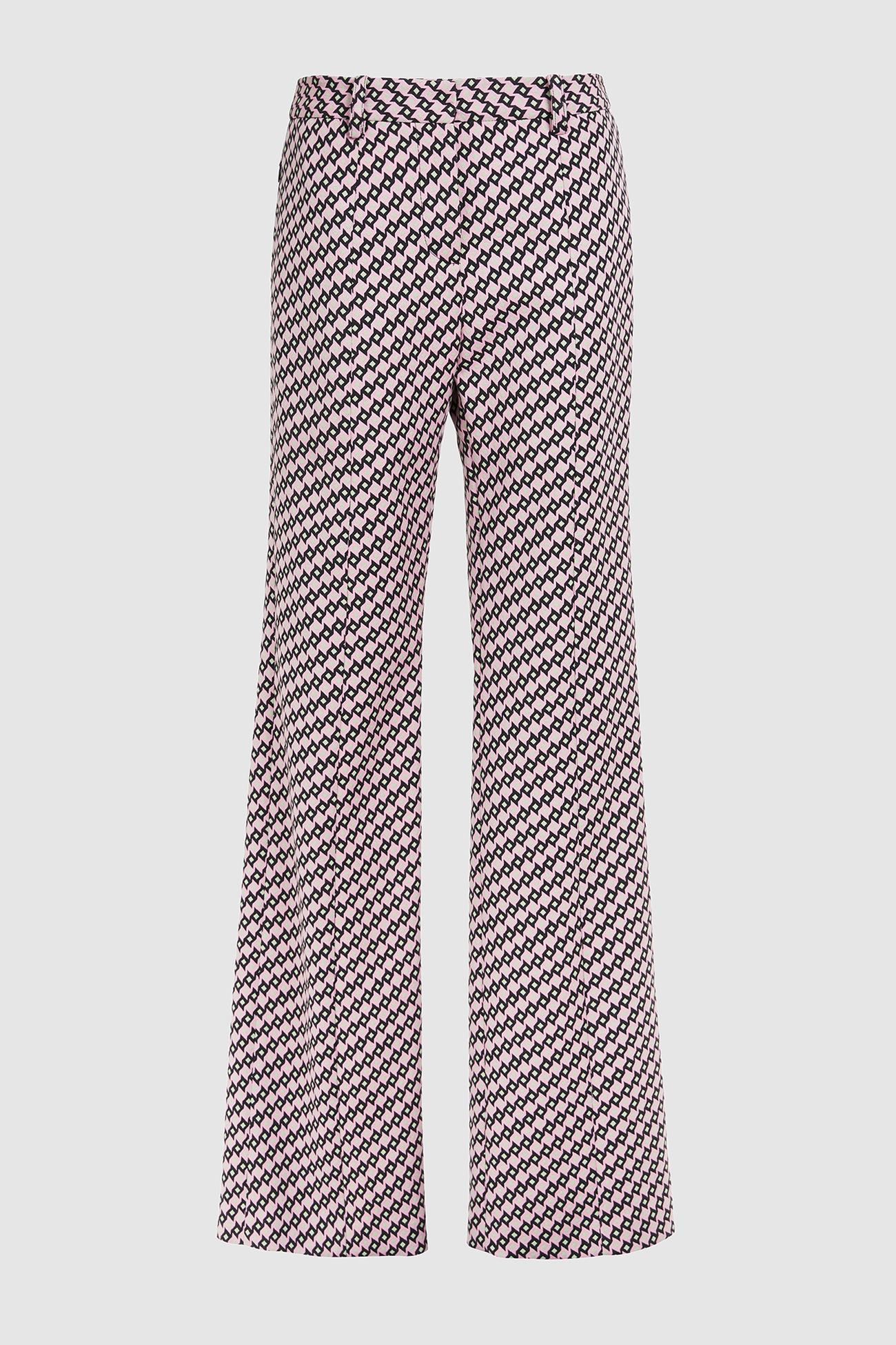 Pantalón con estampado geométrico, de Bimba y Lola (112 euros).