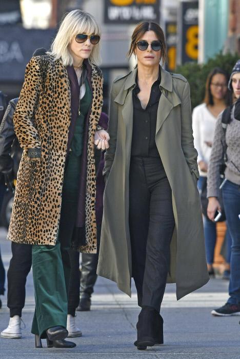 Cate Blanchett y Sandra Bullock son las protagonistas de Ocean's 8.