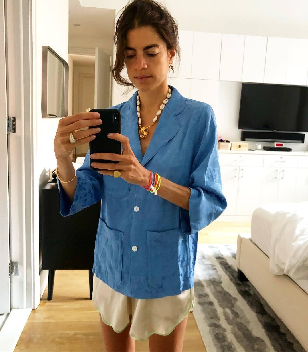 Se lleva oversize (sólo hay que ver la camisa XL que lleva Leandra...