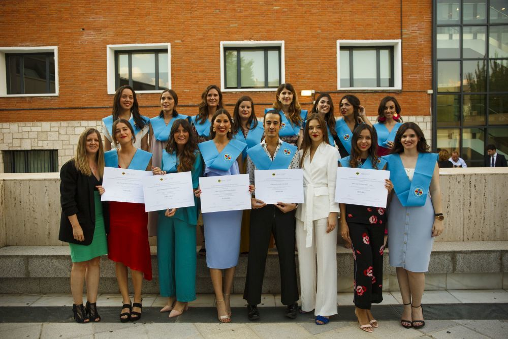 Alumnos del Máster Oficial en Comunicación de Moda y Belleza