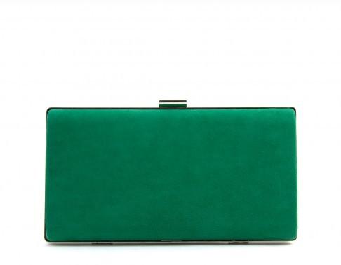 Clutch verde, de Lolita Blue (74,90 euros).