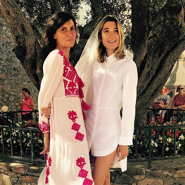La editora de moda Emmanuelle Alt fue una de las invitadas vip de la...