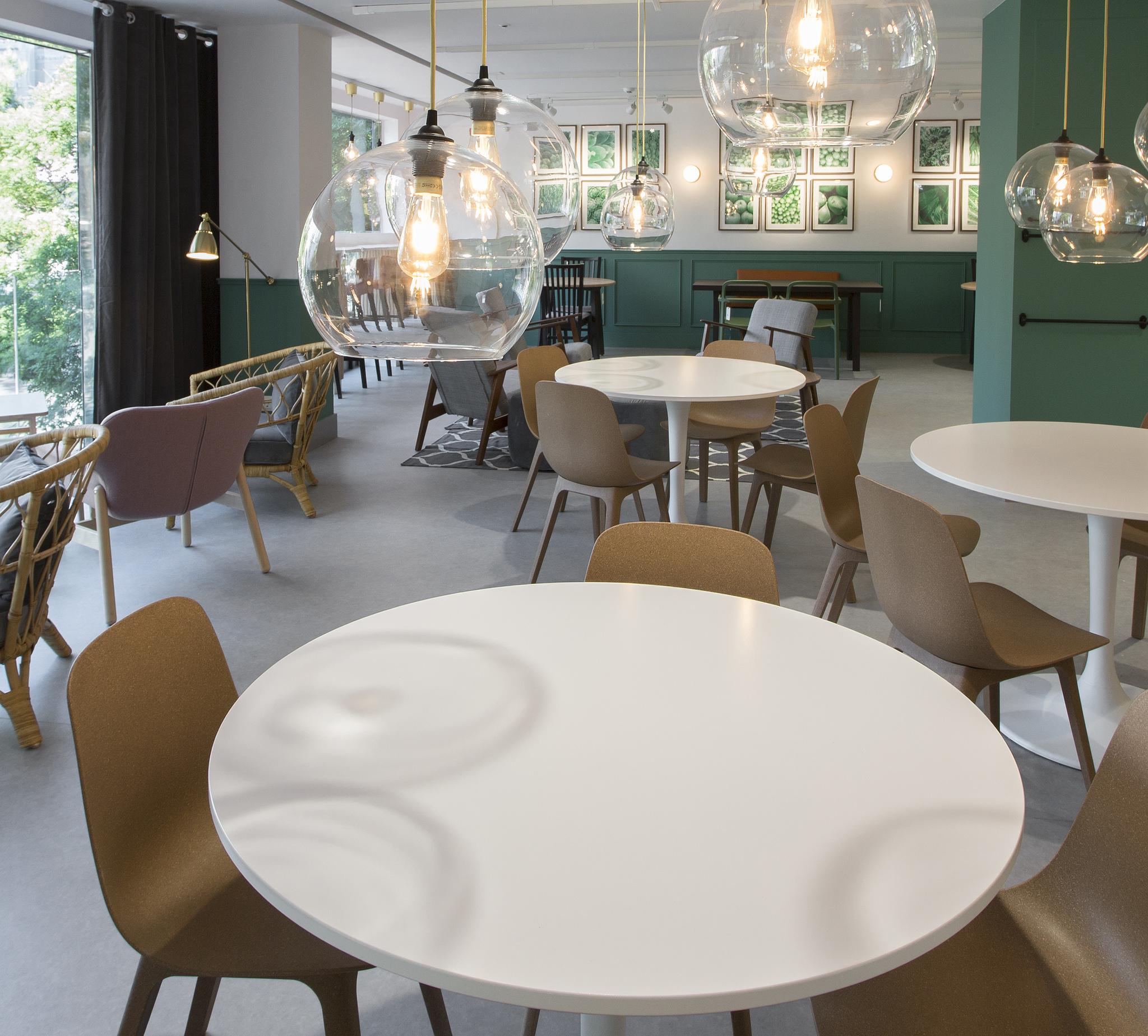 El restaurante de IKEA Goya.