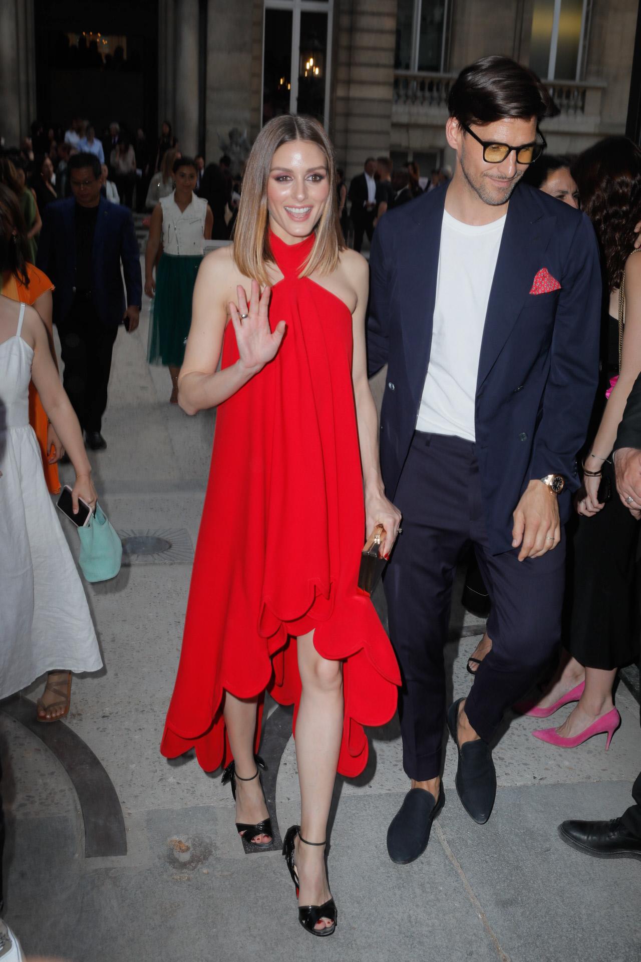 Olivia Palermo demuestra que el rojo es uno de los colores de la...