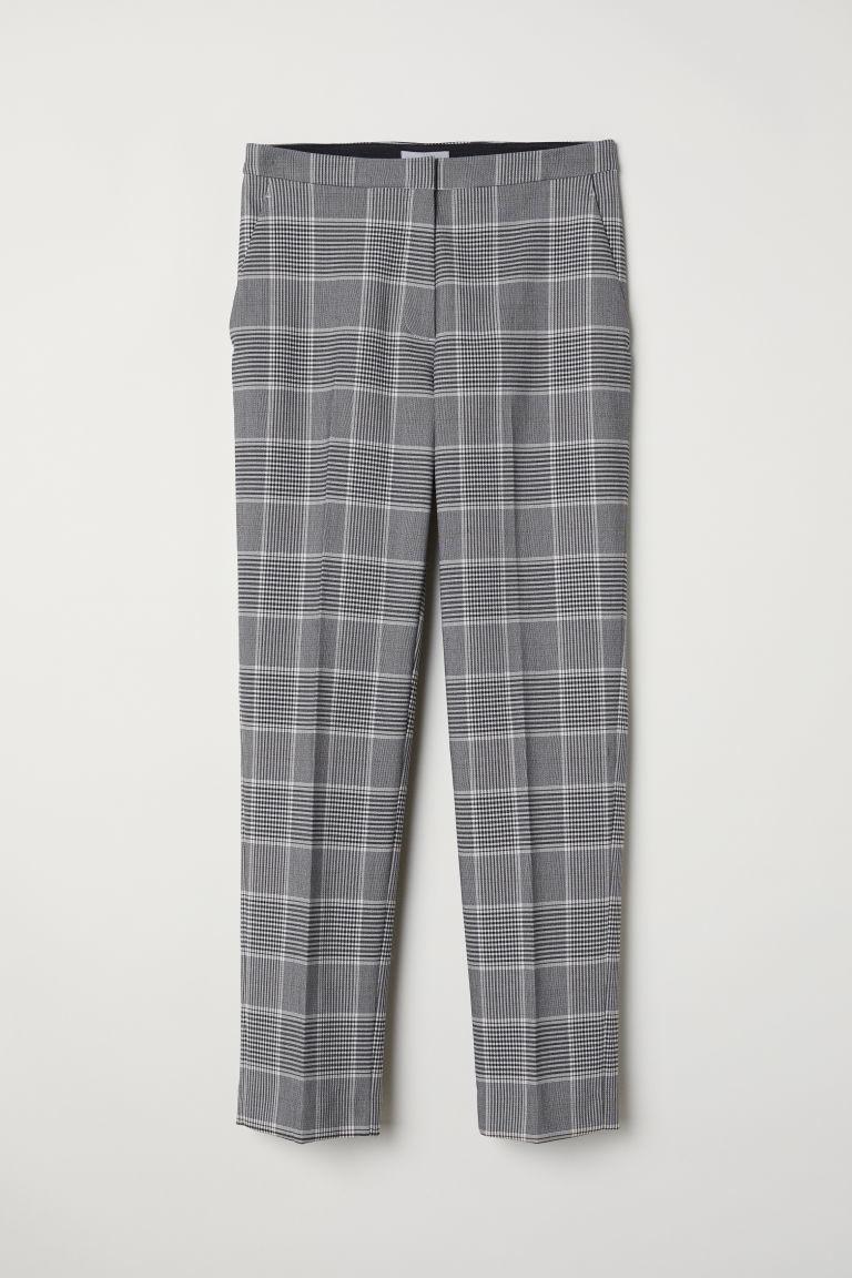 Pantalón de cuadros, de H&M (14,99 euros).