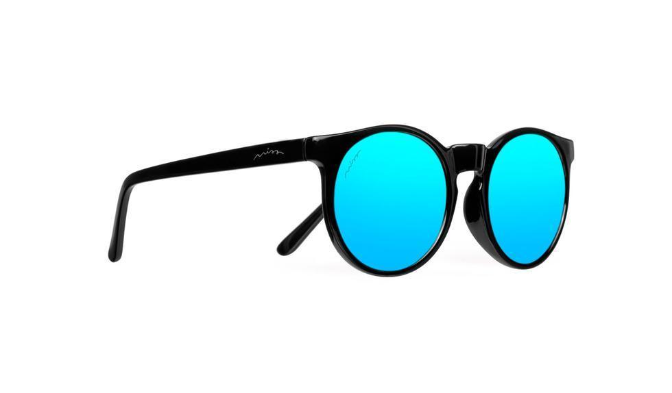 Gafas de sol con cristales de espejo en azul, de Miss Hamptons (20...