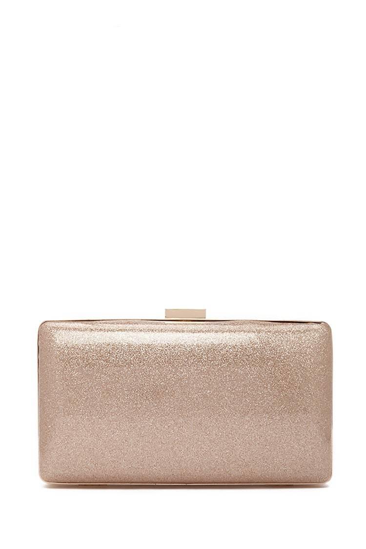 Bolso de mano dorado, de Forever 21 (9,50 euros).