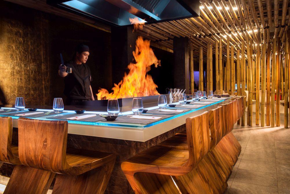 El restaurante Minami