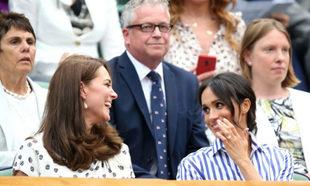 Kate Middleton y Meghan Markle en Wimbledon.